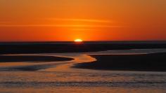 Popoyo mangrove sunset