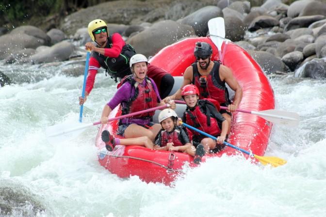 Rafting Serequipe River