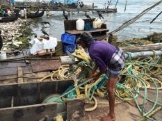 Cochin Chinese fishing pier